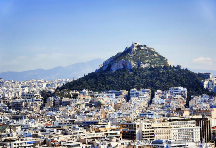 Mount Lycabettus is something to conquer while seeing Athens in 3 days!