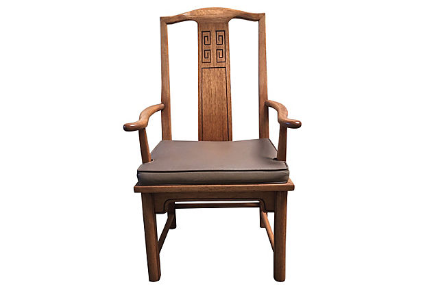 Asian Dining Chairs, S/4