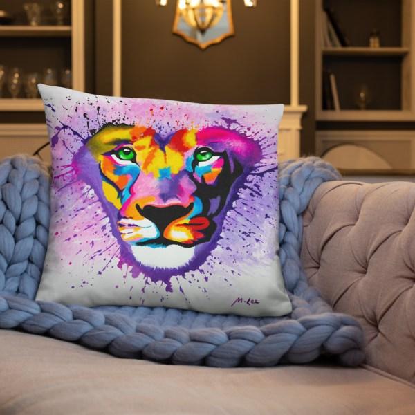 Lion Heart Cushion (3)