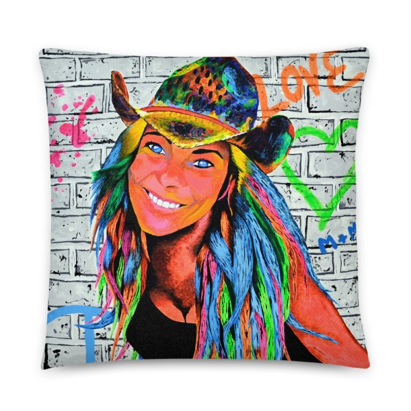 Peace and love Marlenka Cushion (1)