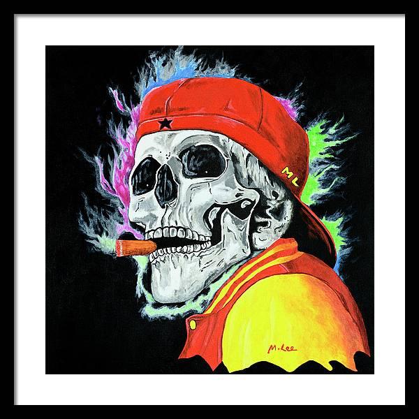 skull-one-last-cigar-mikey-lee