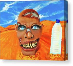 zombie-got-pranked-mikey-lee-canvas-print