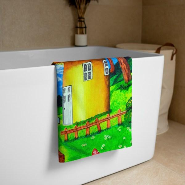 Elves-in-Magical-Forest-Towel-Modern-Wall-Art (3)
