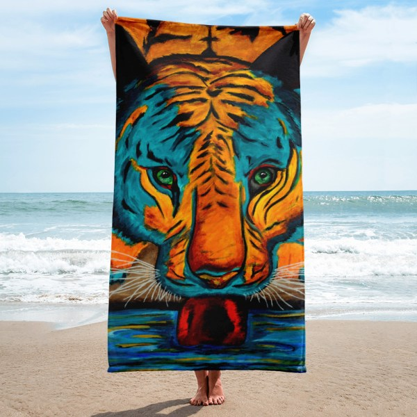 Eyes-of-the-Tiger-Towel-Modern-Wall-Art (1)