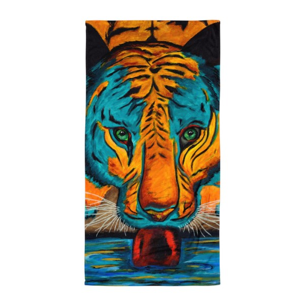 Eyes-of-the-Tiger-Towel-Modern-Wall-Art (2)