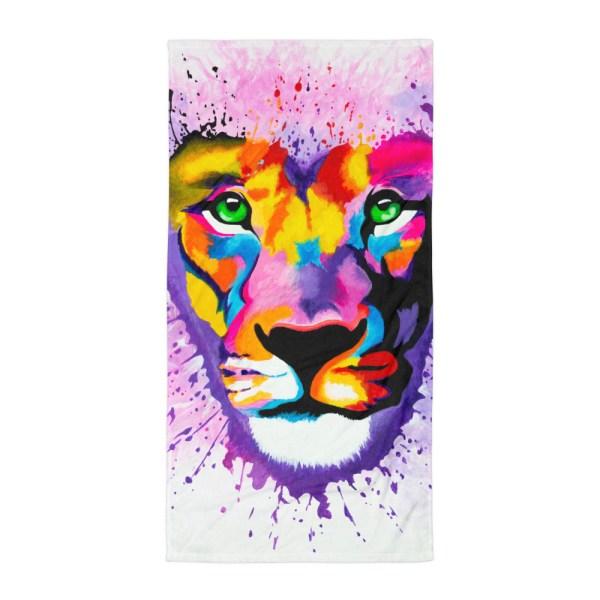 Lion-Heart-Towel-Modern-Wall-Art (2)