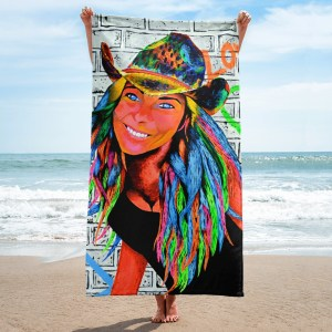 Peace-and-Love-Marlenka-Towel-Modern-Wall-Art (1)