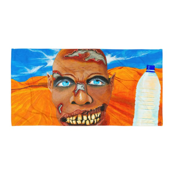 Zombie-got-Pranked-Towel-Modern-Wall-Art (2)