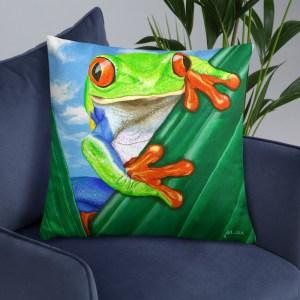Ellie-the-Tree-Frog-Cushion-Modern-Wall-Art (1)