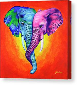 elephants-in-love-mikey-lee-canvas-print