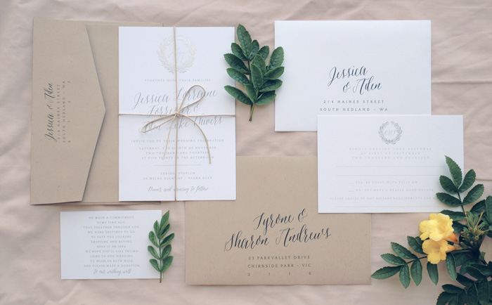 Our Favourite Rustic Wedding Invitation Ideas