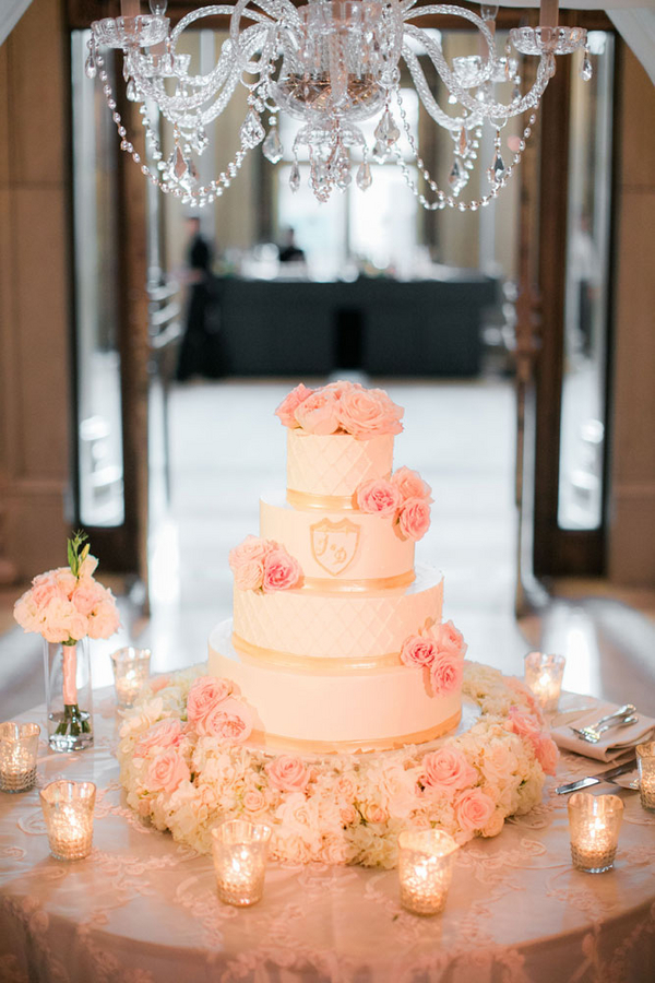 traditional ballroom wedding