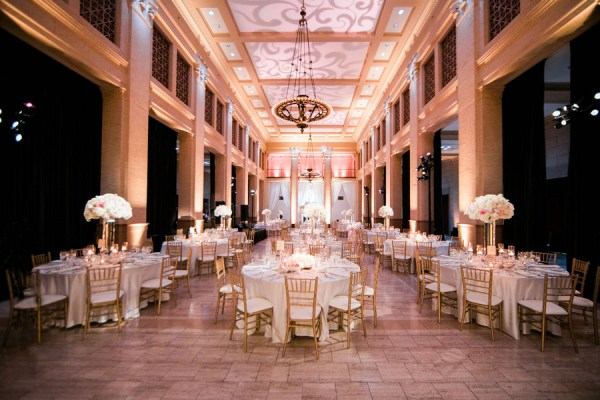 traditional ballroom wedding