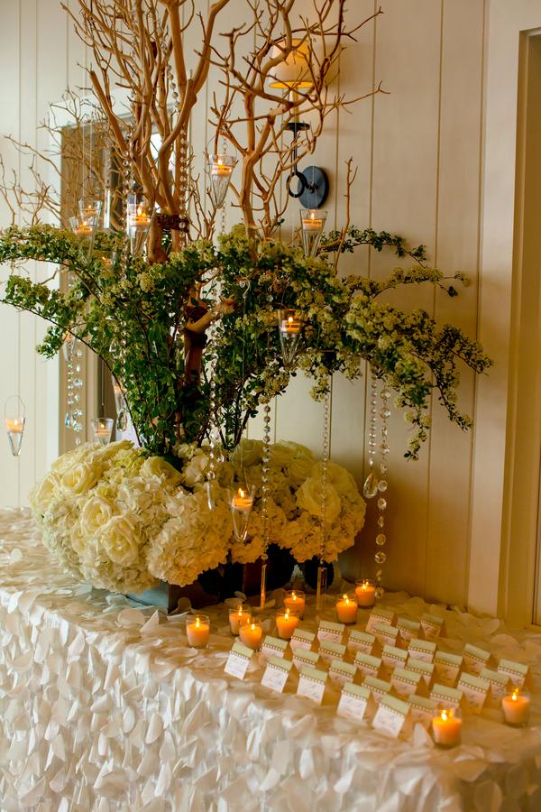 glam resort wedding