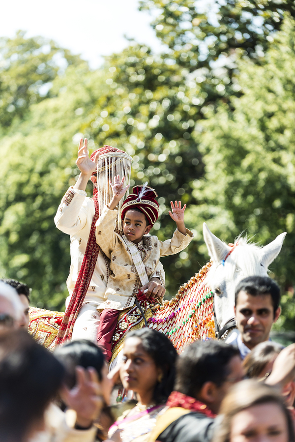 summer Indian wedding