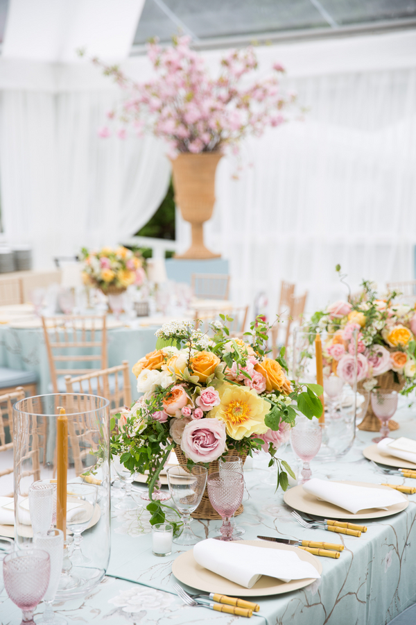 floral-inspired wedding