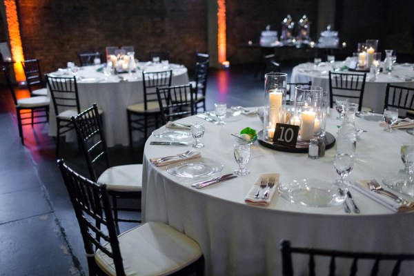 glam warehouse wedding