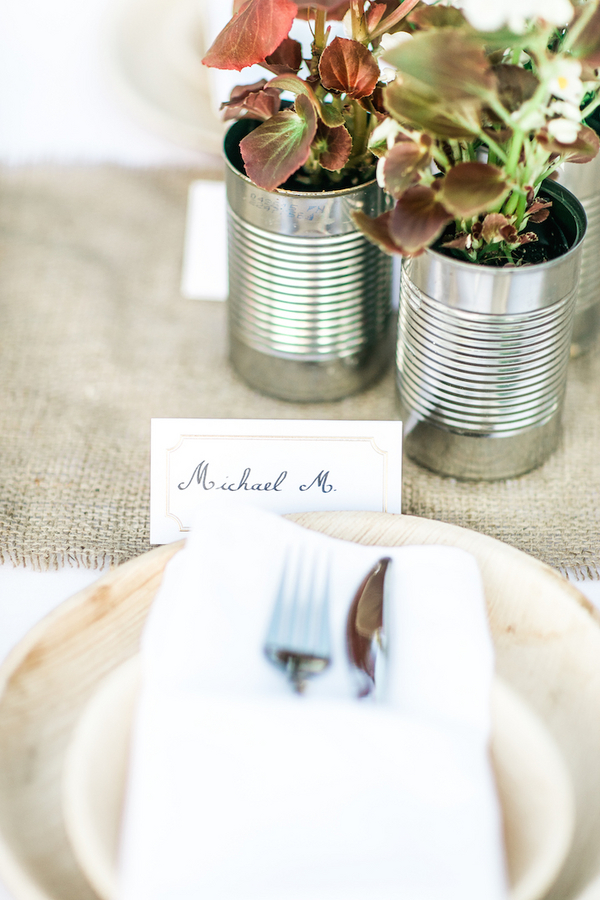 summer vineyard wedding