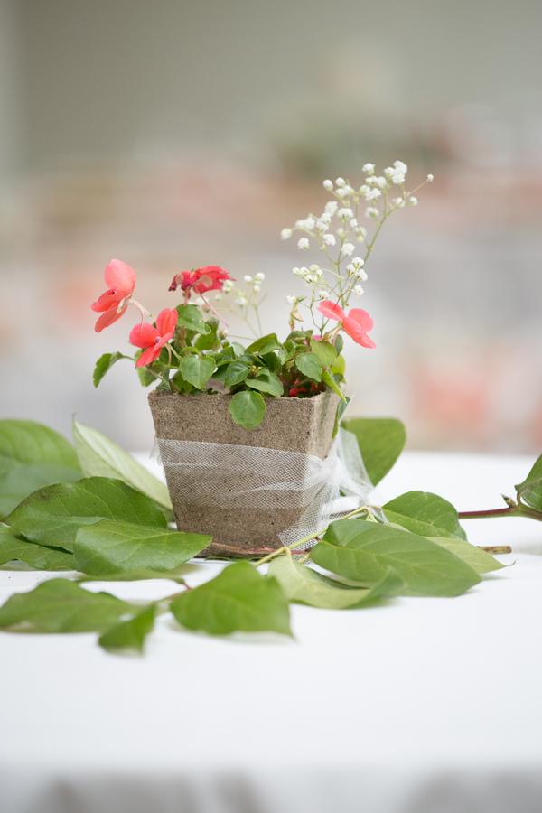 spring garden wedding
