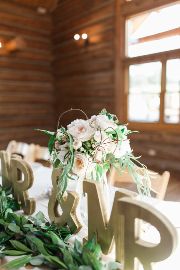 chic lake house wedding
