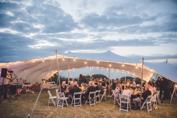 chic beach wedding