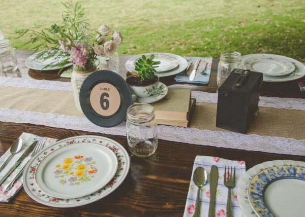 whimsical outdoor wedding