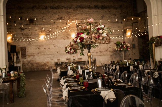 modern industrial wedding