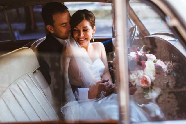 fall city wedding