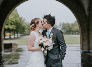 dainty spring wedding