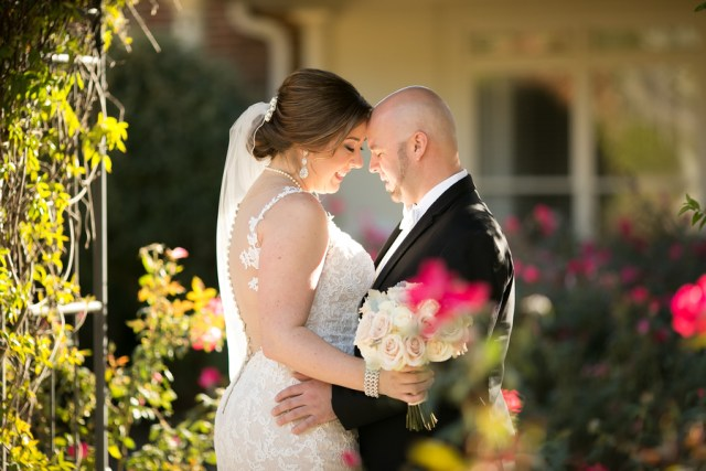 elegant garden wedding