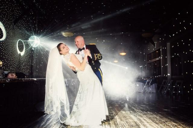 elegant military wedding