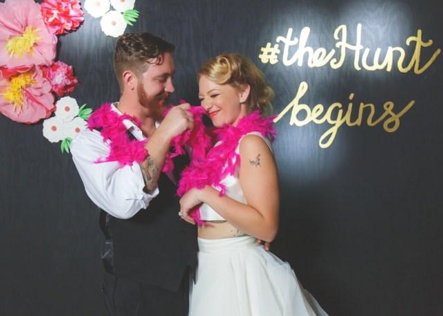 outdoor Hollywood glam wedding
