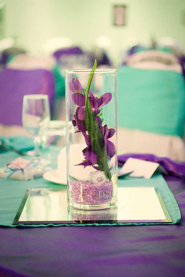 whimsical colorful hotel wedding