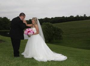 sophisticated farm wedding