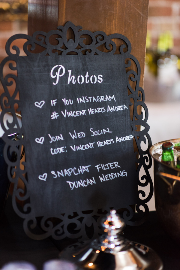 vintage travel-themed wedding
