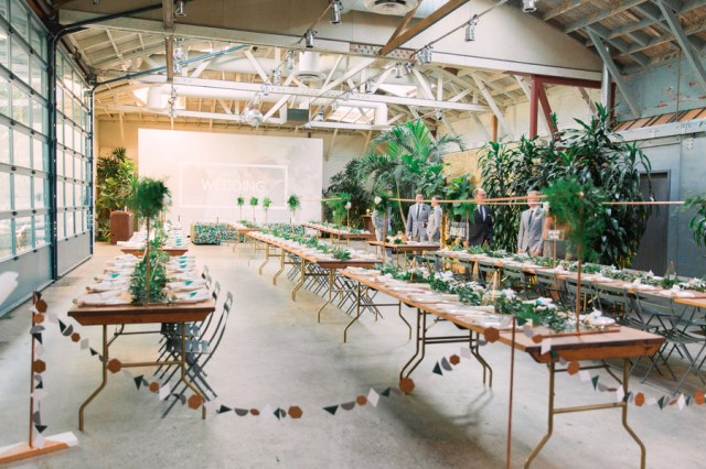 modern geometric wedding