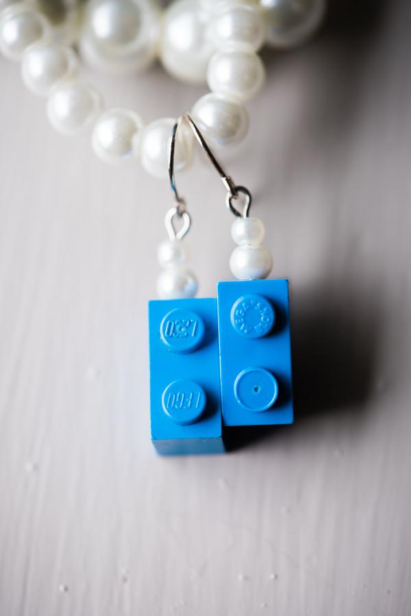 blue Lego wedding