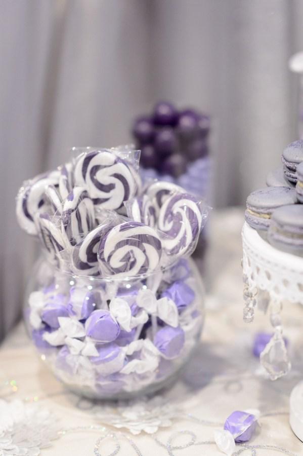purple California wedding