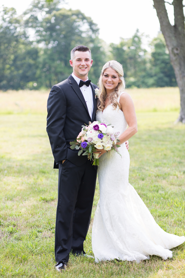 rustic chic summer wedding