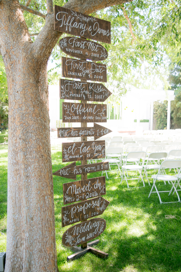 rustic lime green wedding
