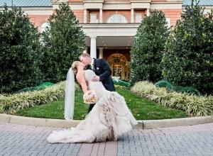 romantic rose gold wedding