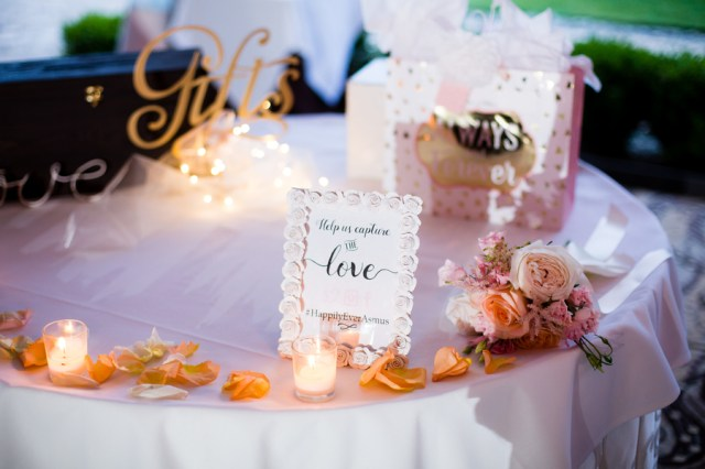romantic elegant wedding