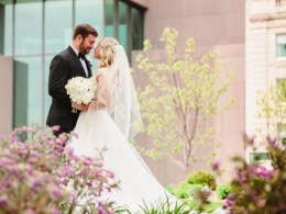historic ballroom wedding