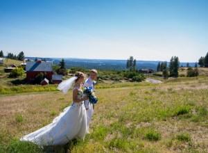 colorful Washington wedding