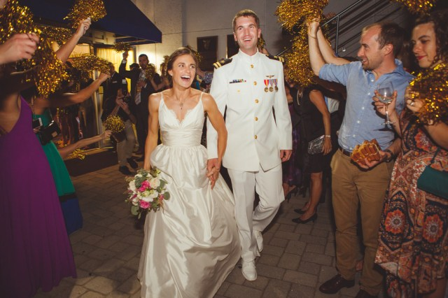 nautical Navy wedding