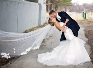spring Michigan wedding