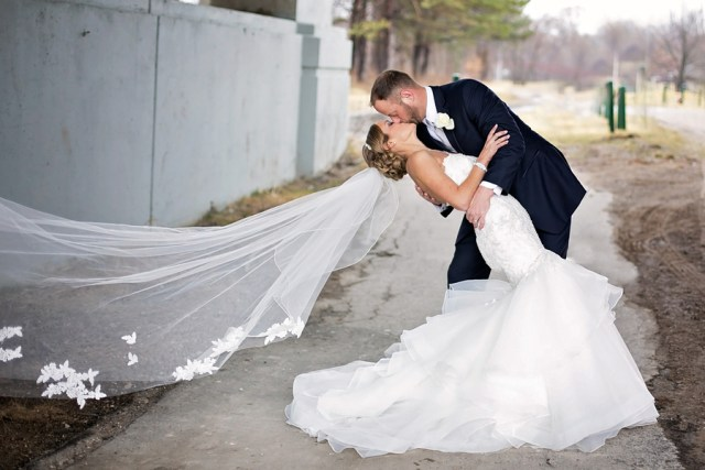 spring Michigan wedding