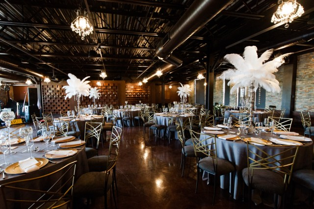 urban Gatsby wedding