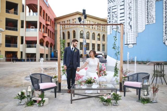 urban chic wedding