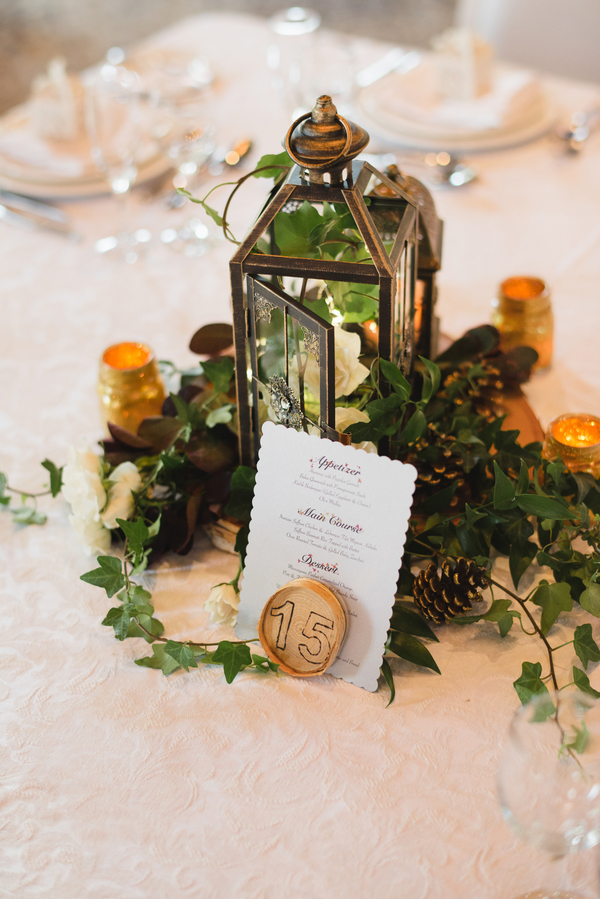 DIY fall wedding